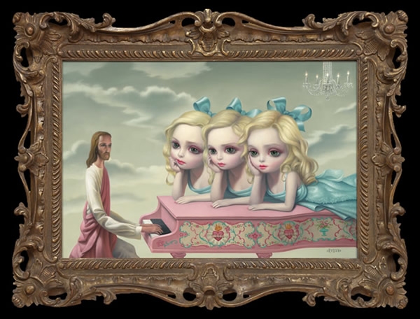 The Piano Player by Mark Ryden