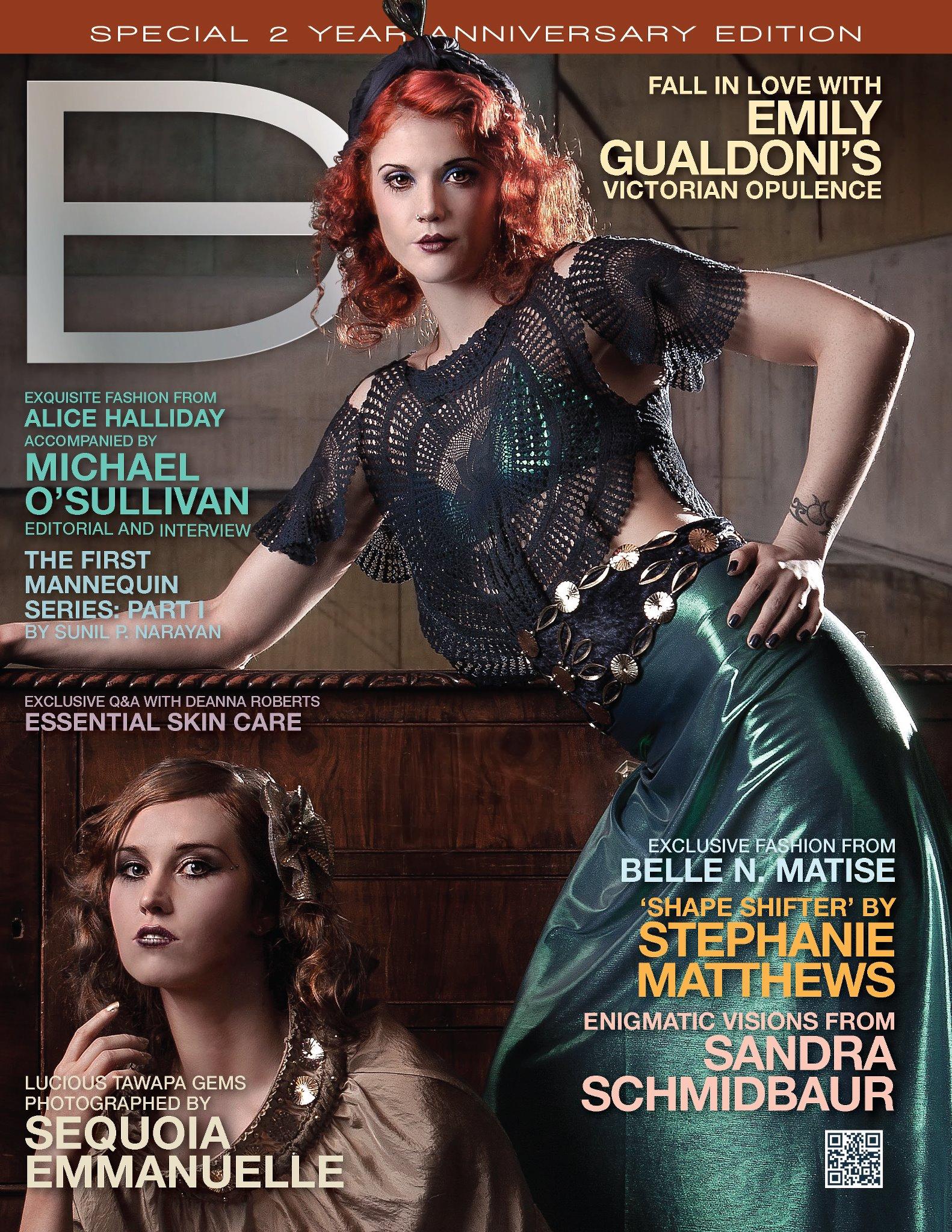 Dark Beauty Magazine Issue 12 - Fall Fashions