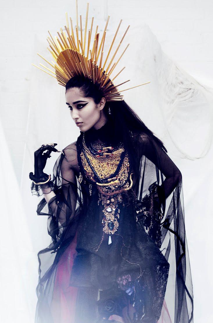 Saga Sig - designer Sorcha O'Raghallaigh - stylist Anna Trevelyan