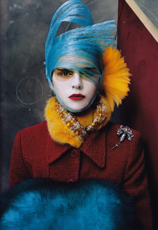 Steven Meisel - stylist Camilla Nickerson