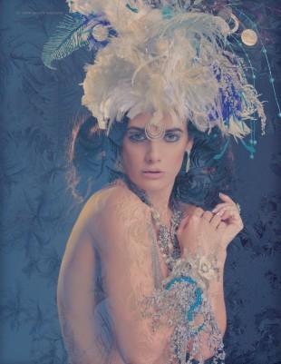 Laura Dark - Brennan - hair Synthetic Rebellion - makeup Mascaraid - jewelry:headpiece Serket Jewelry
