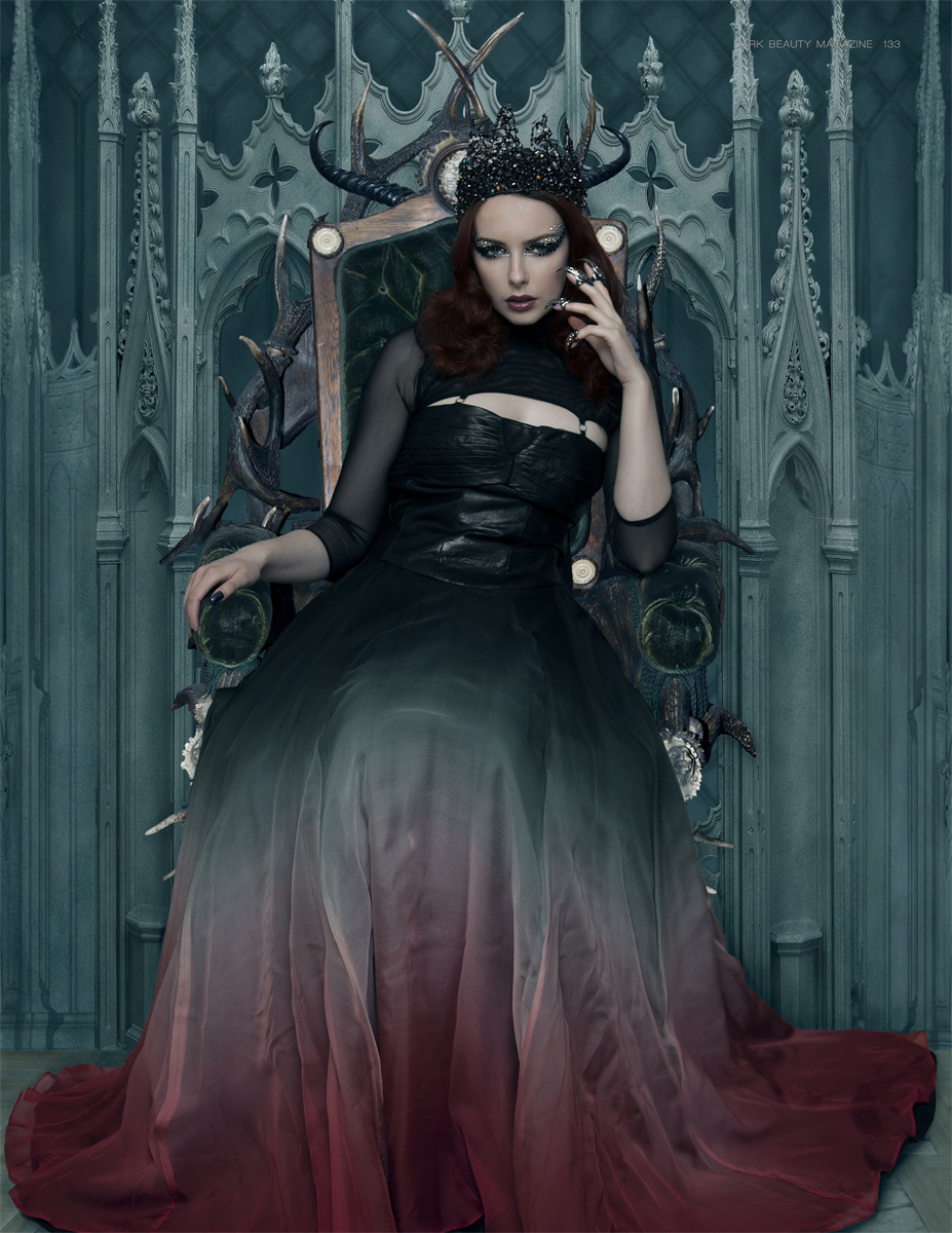 Sing Lo - designer Afira - makeup:model Liv Free