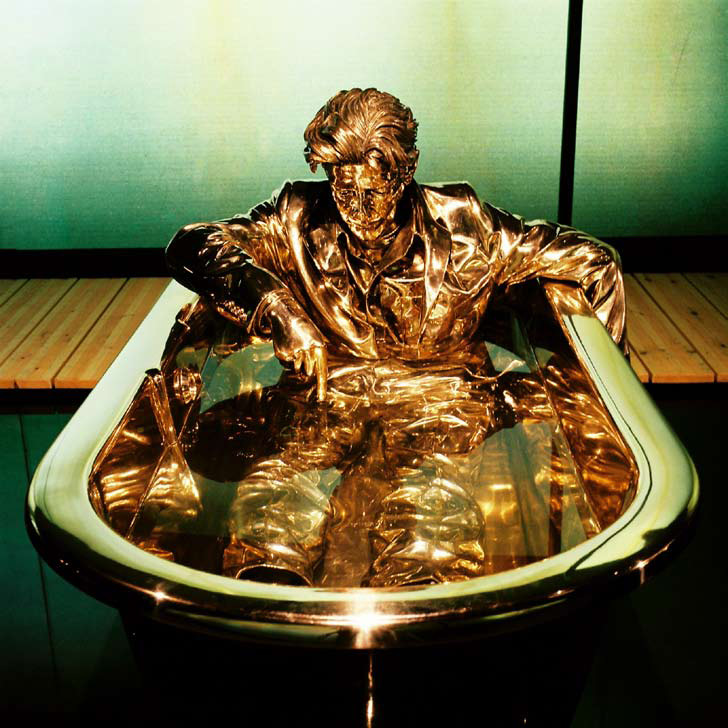 Jan Fabre - The Man Writing on Water