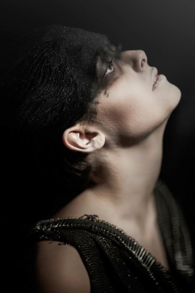 Luca Meneghel - Laura Moroder - hair:makeup Sabine Gutwenger - dress MaterialByProducts - thanks to Francesco Elipanni