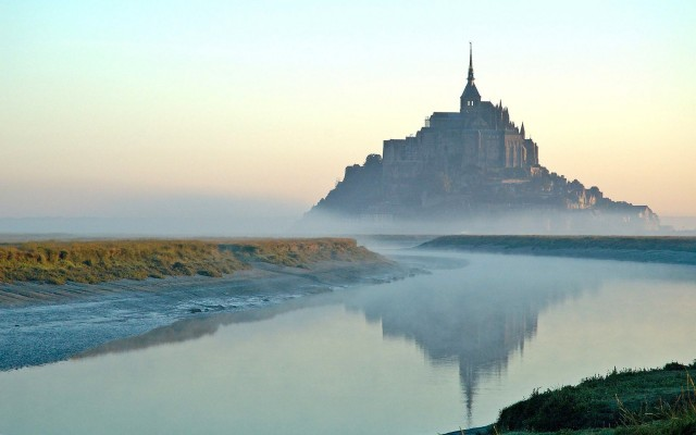 Mont Saint-Michel Abbey - location Normandy, France