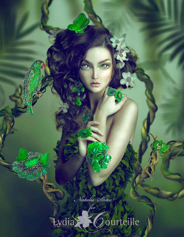 Natalie Shau - design Lydia Courteille - Green