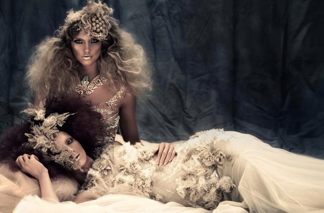 Tina Patni - hair:makeup Gene Ginno Alducente - designer Furne Amato