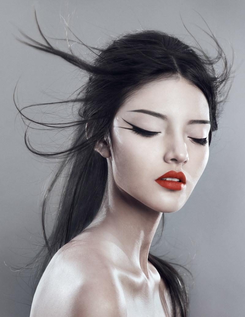 Xi Sinsong - Elsa Andrade - hair Arturo Swayze - makeup Misha Shahzada