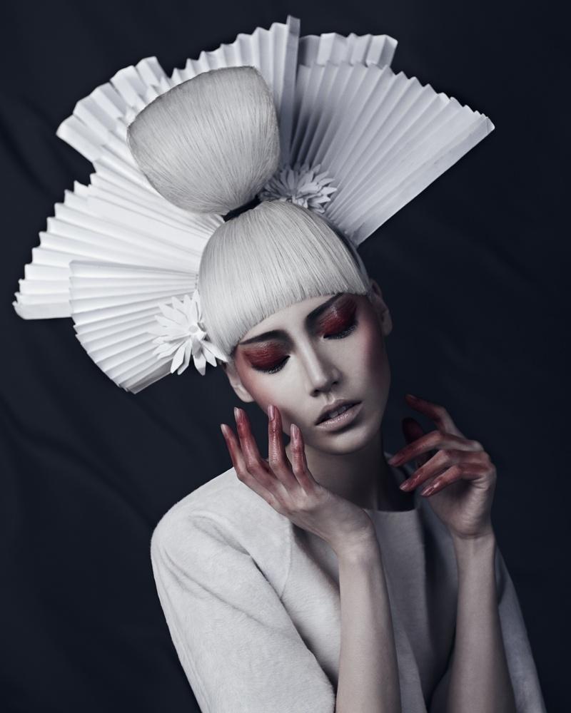 Xi Sinsong - Soo Joo - hairy Shinya Nakagawa - makeup Misha Shahzada - stylist Michael Tucker