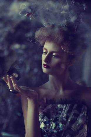 Ekaterina Belinskaya - Ekaterina Kolyskina - hair:makeup Anastasia Khrycheva - designer Maria Daranova
