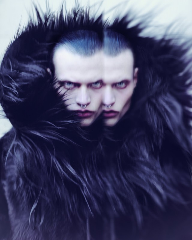 Elizaveta Porodina - Alexander Wolf - designer Atelier Lorand Lajos