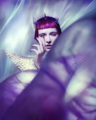Elizaveta Porodina - Asia Bugajska - hair:makeup Heiko Palach - stylist Lorand Lajos