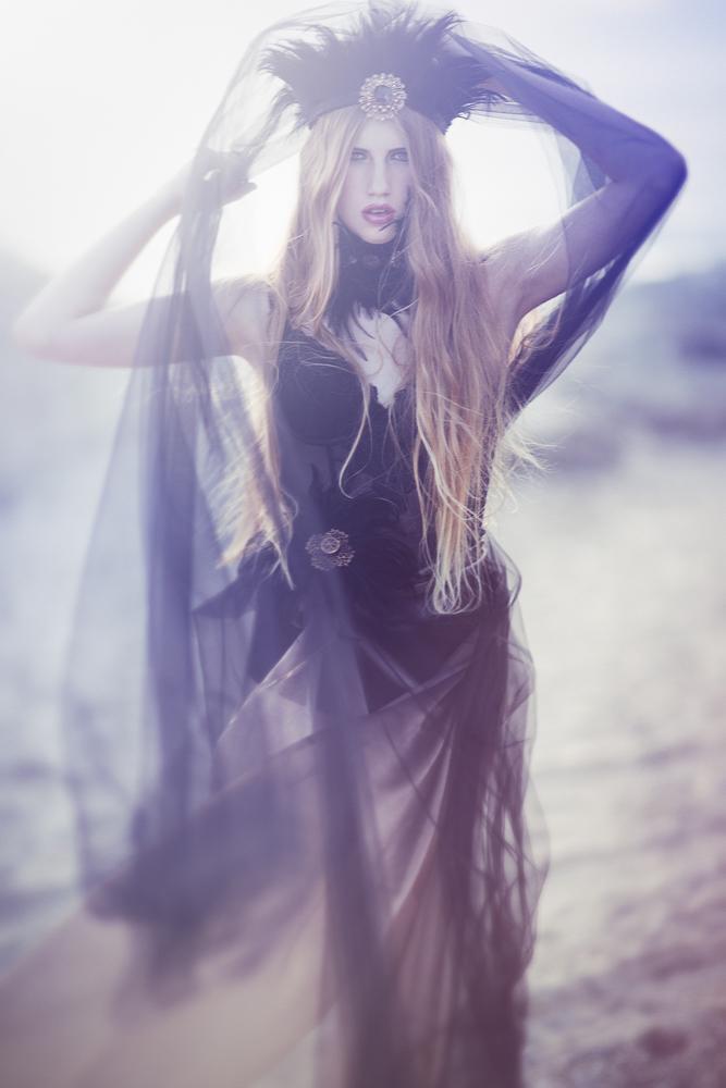 Emily Soto - Alyena (LA Models) - hair:makeup Jen Kolhagen - designer:stylist Susan Lafica at Fiori Couture - jewelry Lisa Marinucci