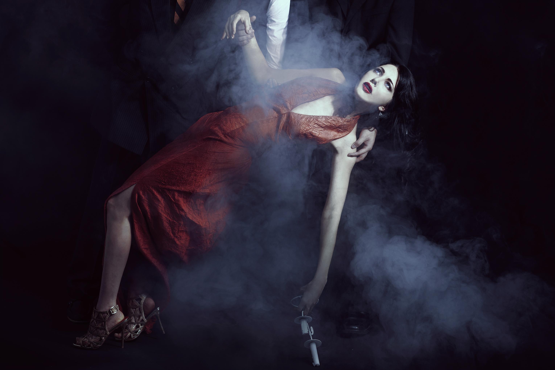 Kimisa - Meisha Kingdon - hair:makeup Jamie Huang - jewelry Carolyn Simon - designer Jean Saung