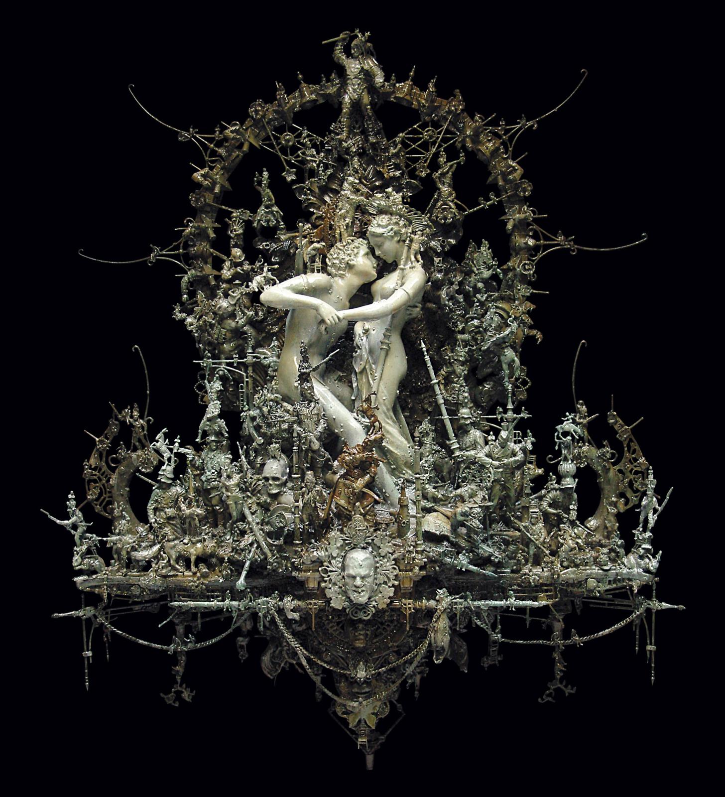 http://www.darkbeautymag.com/wp-content/uploads/2013/02/Kris-Kuksi-Reticent-Affair.jpg