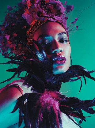 Mario Sorrenti - Joan Smalls - stylist Edward Enninful