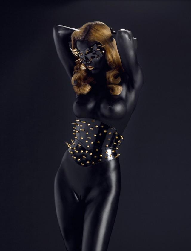 Michel Dierickx - Miss Miranda - mask:corset Paul Seville