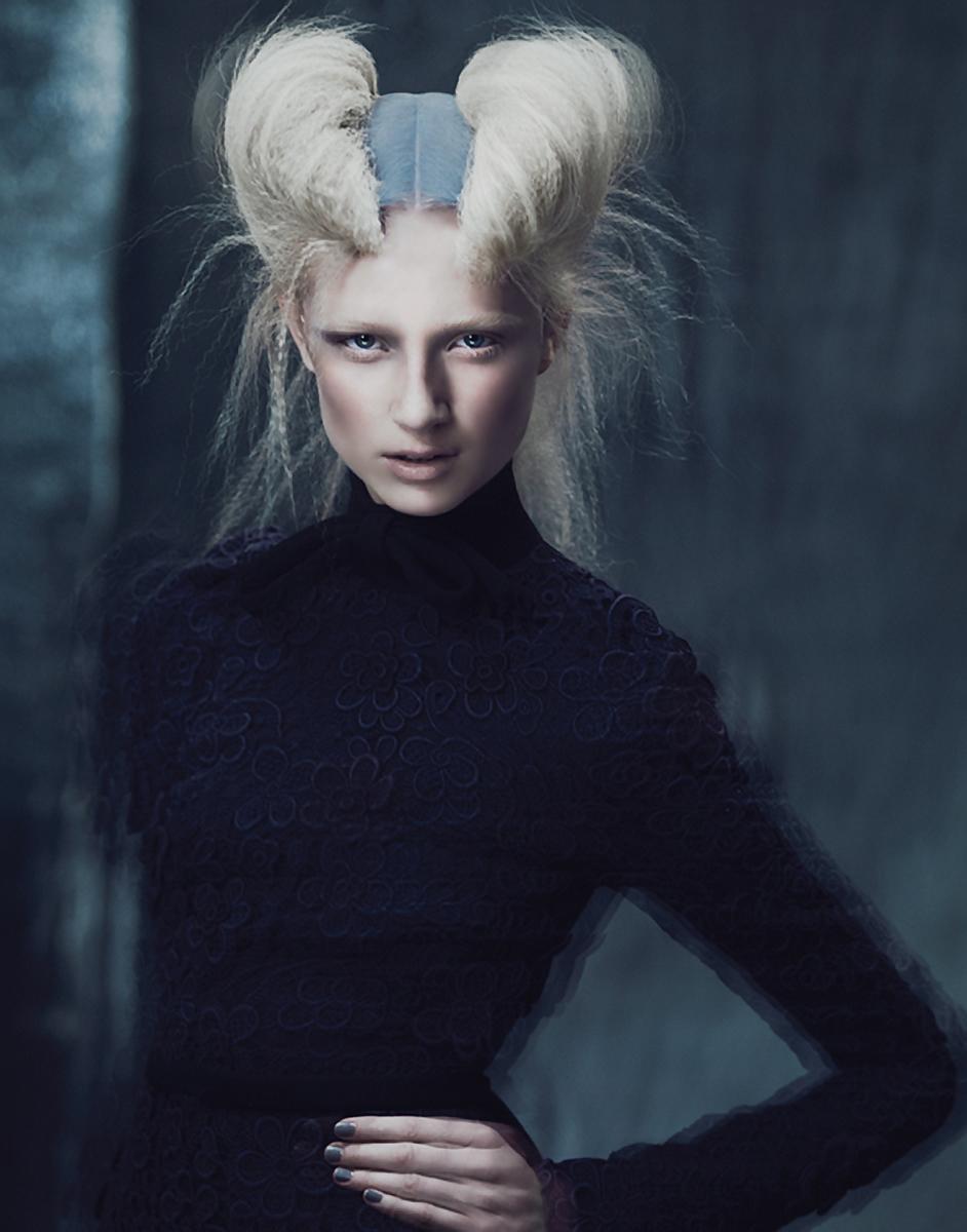 Avant Garde Designer: Andrew Yee • Dark Beauty