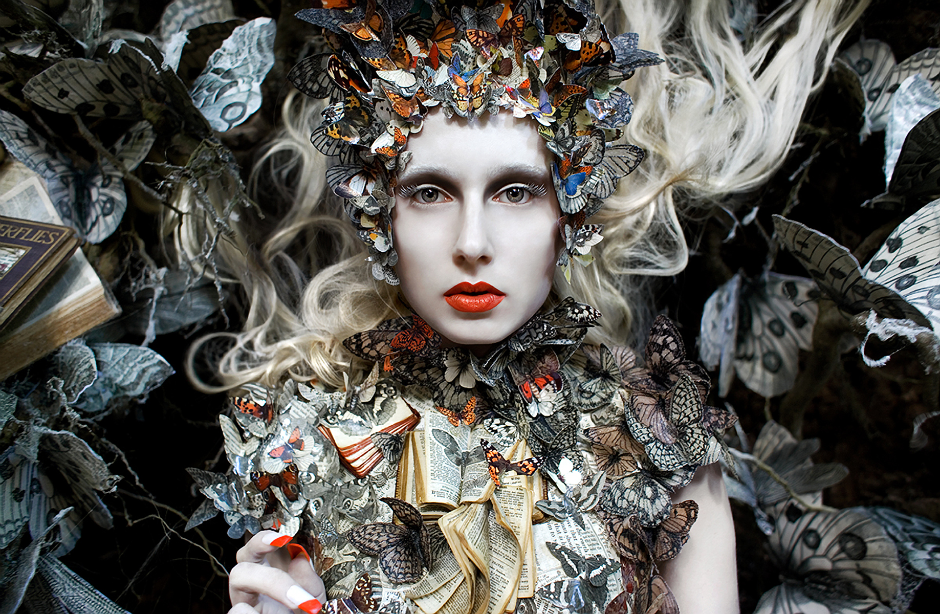 Kirsty Mitchell - Daria Shipovskikh (Profile Models) - hair:makeup Elbie van Eeden - stylist:wardrobe:props by photographer - assistans Laura Sawyer and Matthew Stevensen