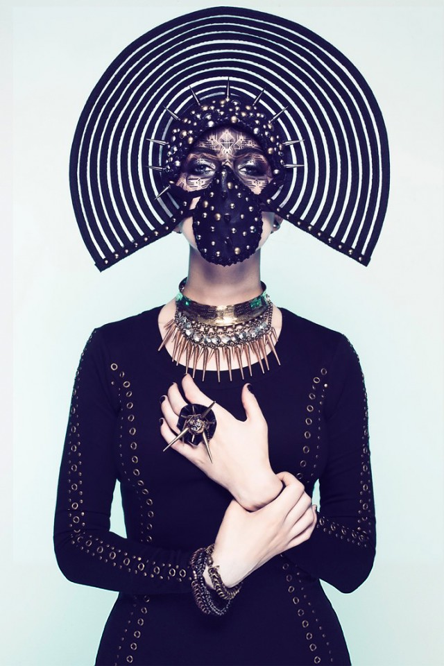 Sequoia Emmanuelle - Ulorin Vex - body paint Eye Level Studio - stylist Jessica Huerta - makeup Sabrina Rucker - hair Victoria Buge - headdress Miss G Designs