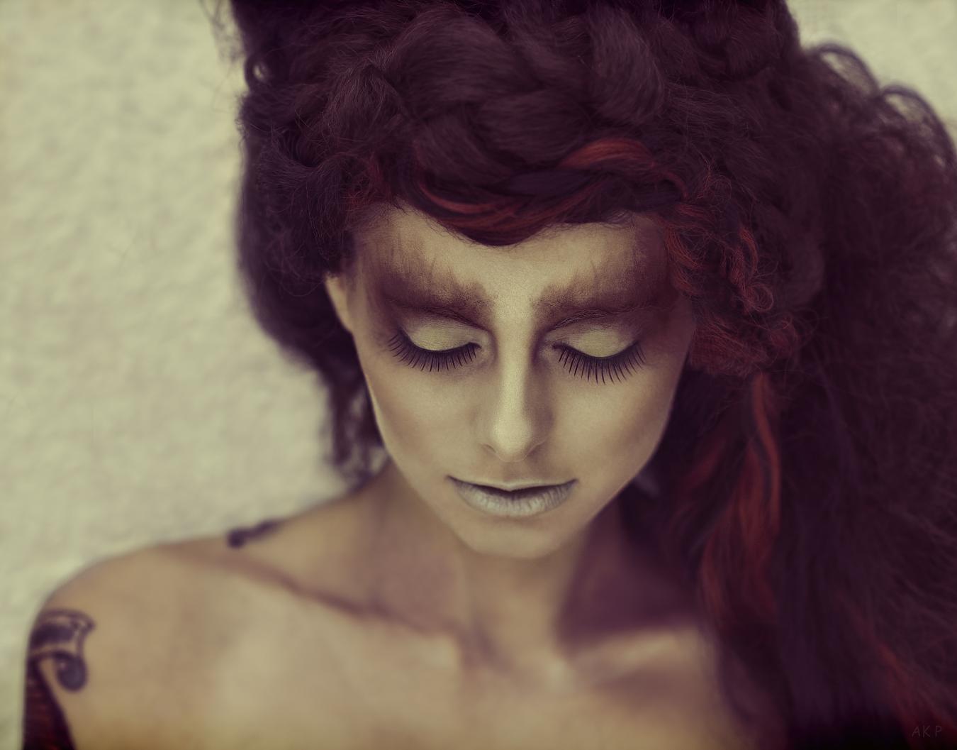 Alex Keen - Lucy Cates - hair Richard Kerr - makeup Ryo Love