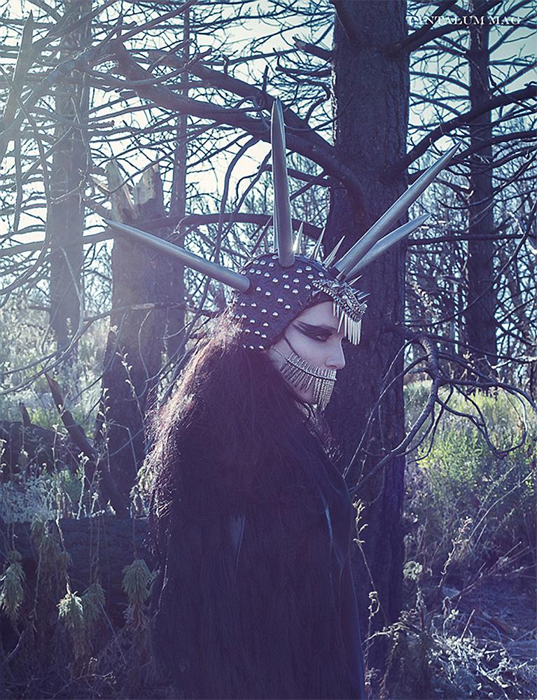 Daniel Jung - Alicia Vigil @ Wunder Management - hair:makeup Kerri Evans - stylist Nia Dennis and Jeff Lunjas - headpiece Miss G Designs