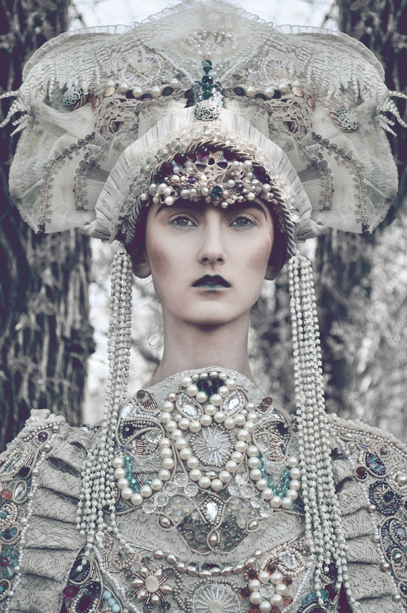 Marcin Nagraba - Klementyna (D'VISION) - SUVI_Makeup Artist & Fashion Stylist - designer Agnieszka Osipa