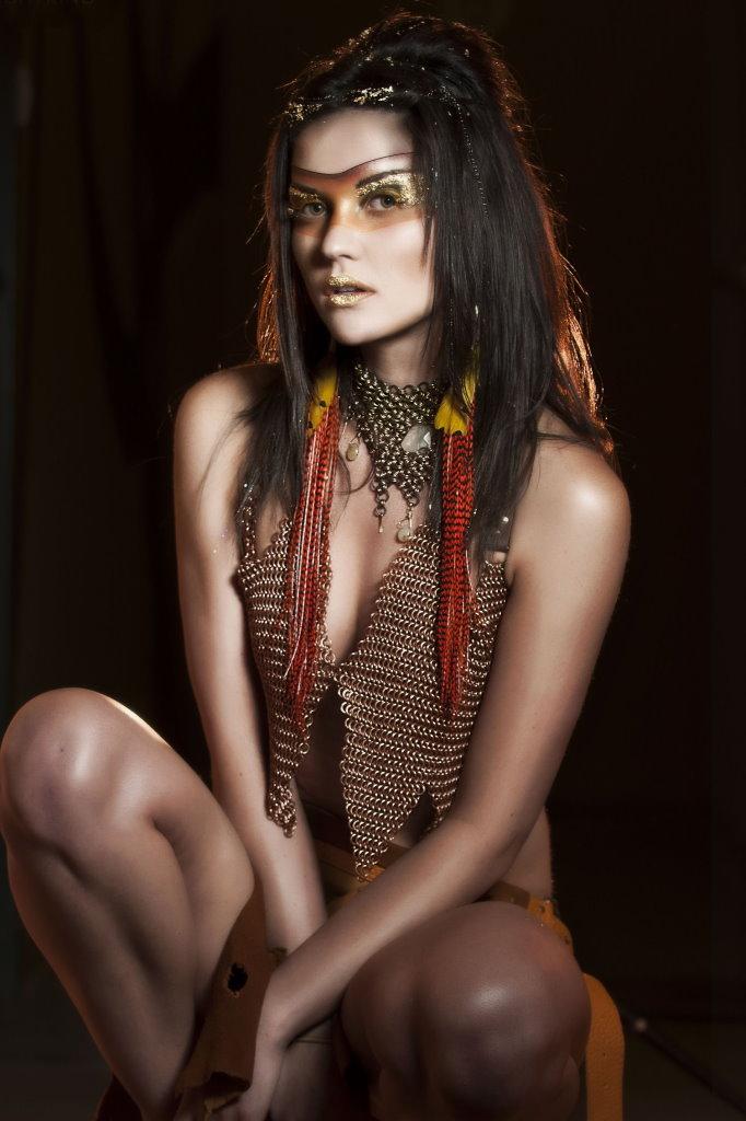 Bishop Bautista - Michaella Elicegui - hair:makeup Kristina McKeegan Nierman - designer Nightkind Productions
