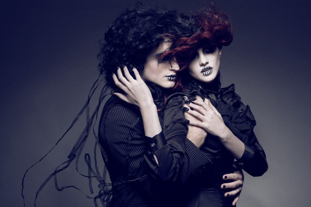 Geoff Jones - BelowDarkWater and Sean Conran - makeup:stylist Cailin Skye - Cupid Painted Blind