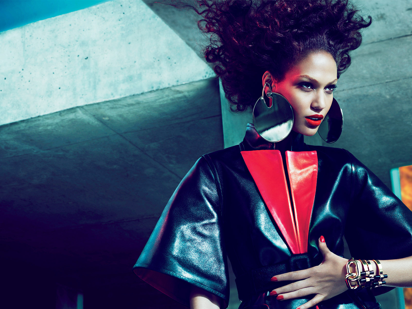 Joan Smalls - Stylist-Camilla Nickerson  Photography-Mert & Marcus