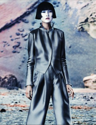 Marcus Ohlsson - Wang Xiao - stylist Anne-Marie Curtis