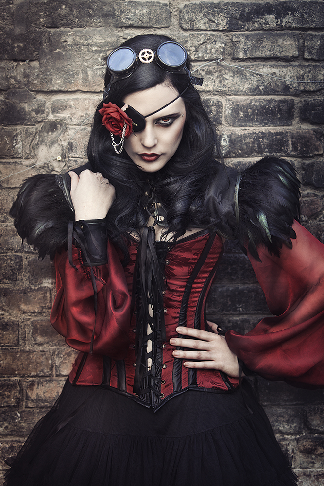 Rebeca Saray - Anneke Necro - makeup:stylist Alassie Real Sewing - goggles - Felix Goggles Estudio