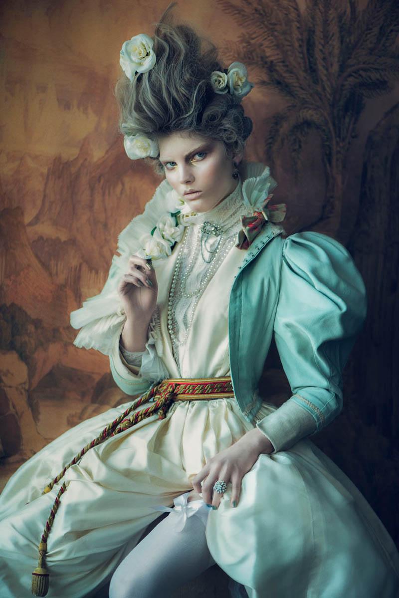 Signe Vilstrup - hair Mette Thorsgaard - makeup Anne Staunsager - stylist Dorothea Gundtoft - post Werkstette