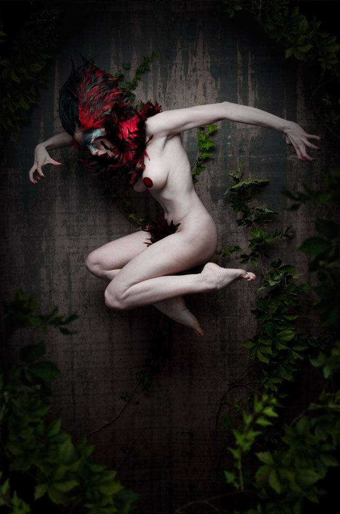 Stuntkid - Asphyxia - hair Ryan Henaghan - makeup Elizabeth Tolley - designer Collective Chaos