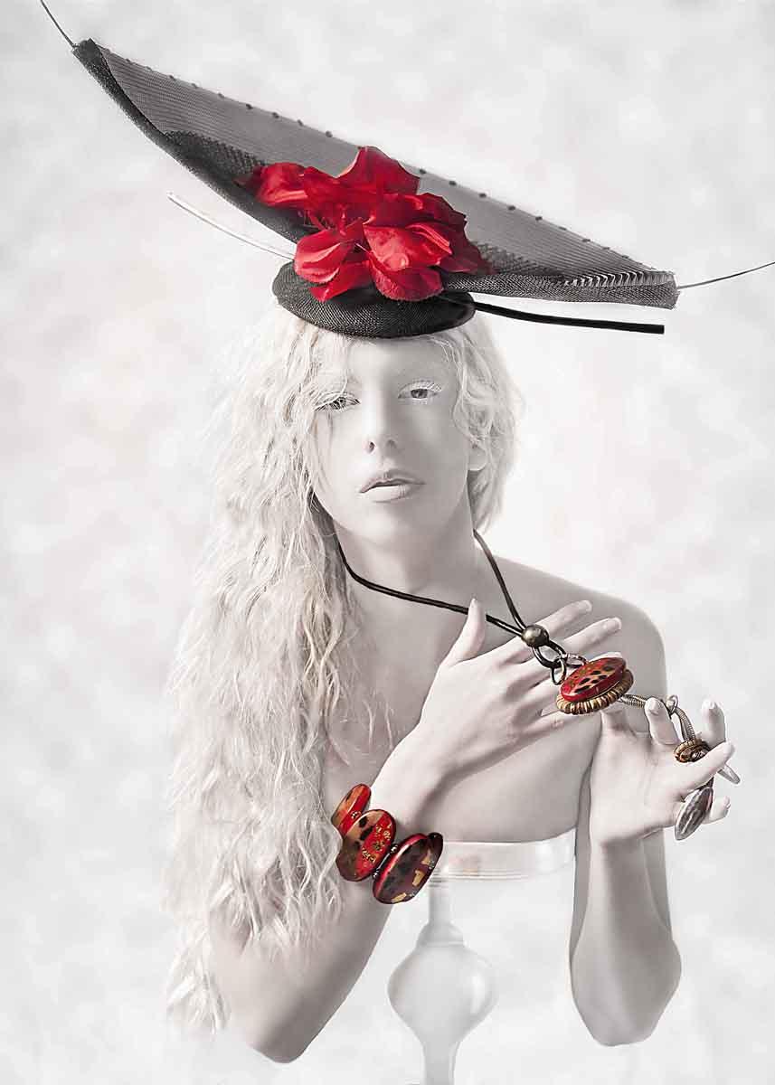 Deena Renee (Zaxon Marley Creations) - Tracey Walker - makeup Emily Djamil - stylist Monica Fruzynski - designer Back In Time Boutique