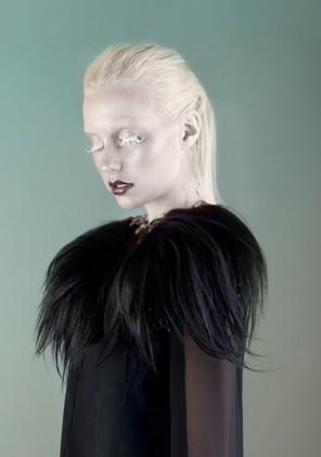 Jana van de Boldt - Samira @ Izaio Model s- hair:makeup Anna Cheret - stylist Julia Quante - designer Anita Krizanovic - fur Moga e Mago - post Sublimegraphic LLC
