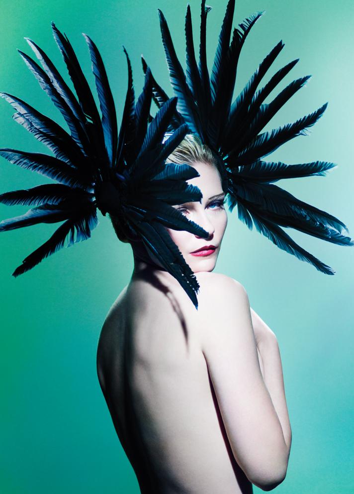 Mario Testino - Kirsten Dunst - hair Christiaan - makeup Linda Cantello - stylist Nicola Formichetti