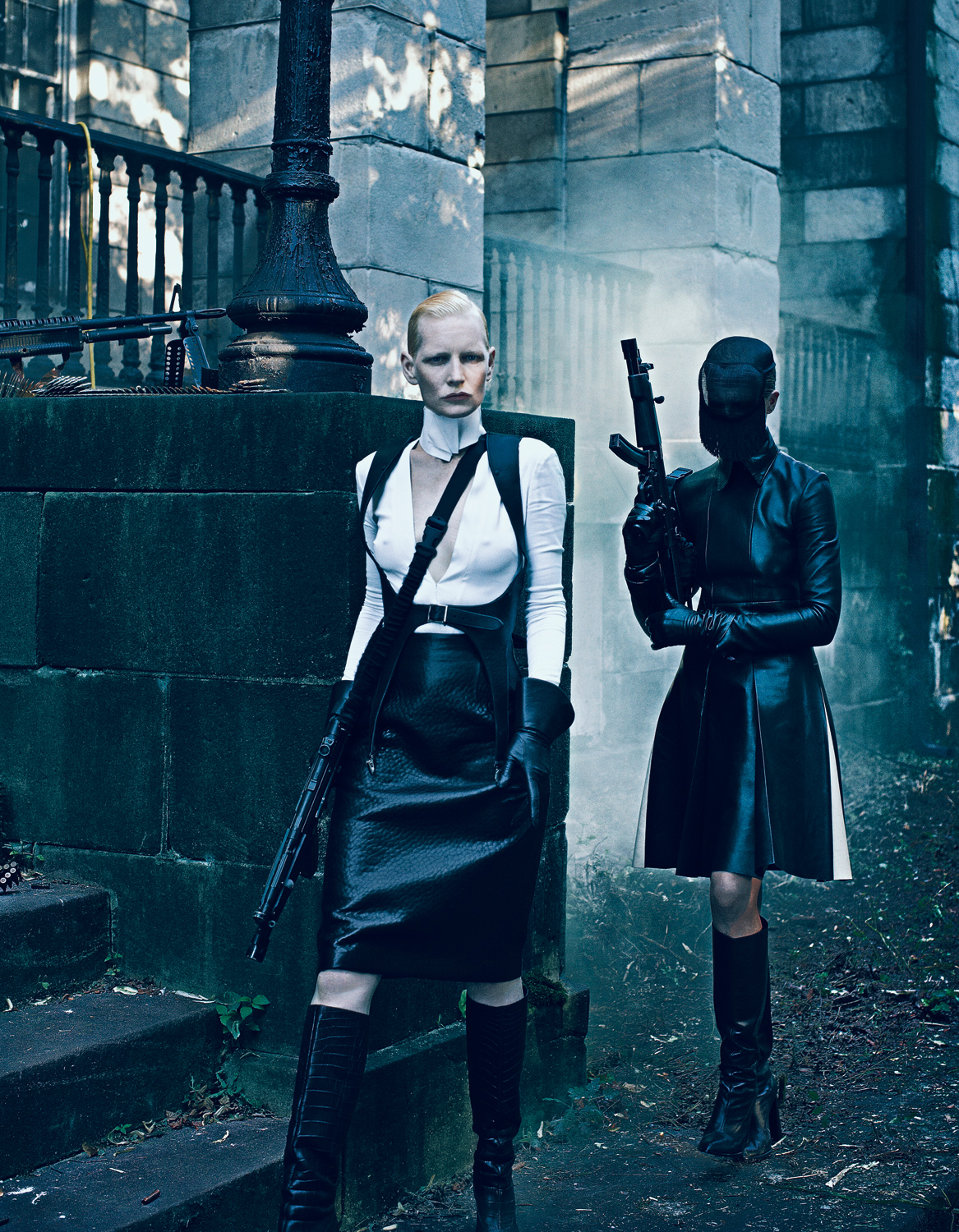 Steven Klein - Kirsten Owen and Christina Kruse
