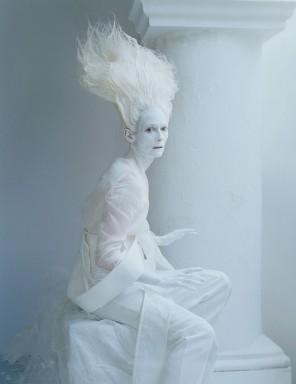 "Tim Walker - Tilda Swinton - hair Julien d'Ys - makeup Stephan Marais - stylist Jakob K - ""Stranger Than Paradise"""