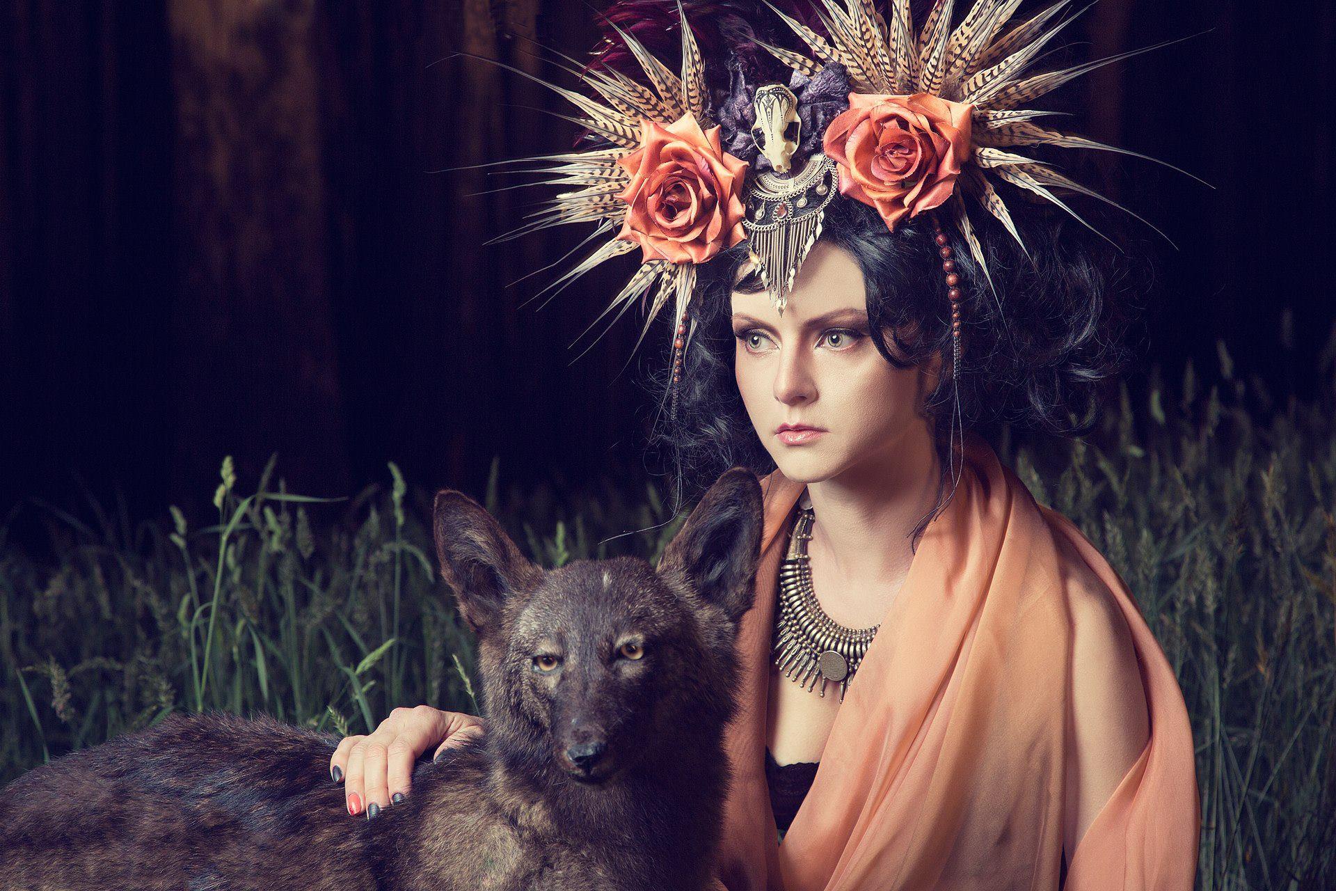 Vlad Savin - Elena K - hair:makeup Amanda Lissant-Clayton Mua - stylist:headdress Shunyata