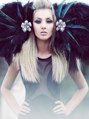 "Amanda Diaz - Haley @ Mode Models - hair:makeup:headpiece Nicole Ziegler - ""Snow White + Attitude"""