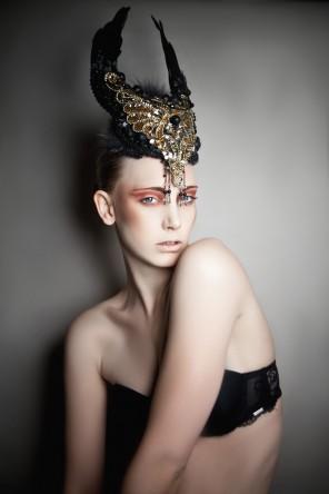 Incarda DesEYEn (Tanja El Kabid) - Laura Becker - makeup:designer Miriam Paul