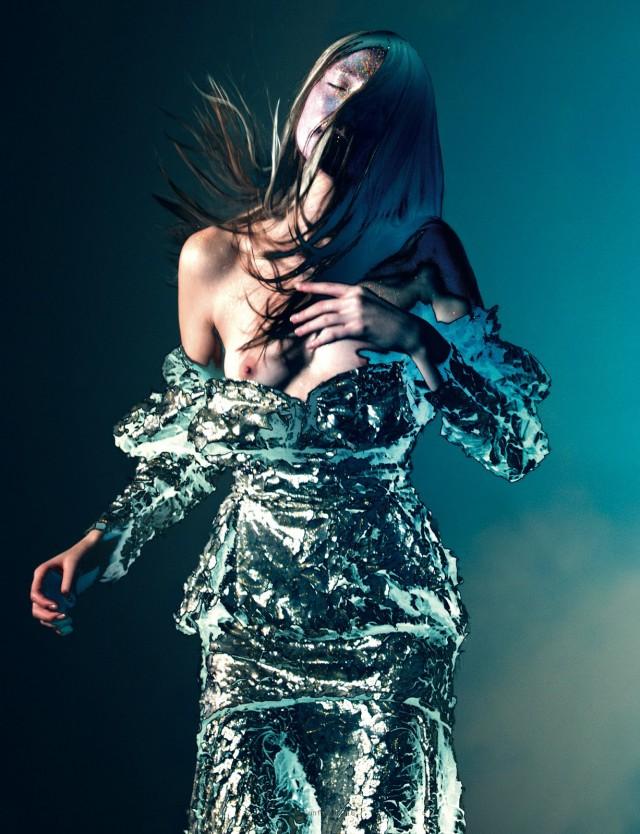 Pierre Debusschere - Yumi Lambert - hair Karin Bigler - makeup Adrien Pinault - stylist Robbie Spencer