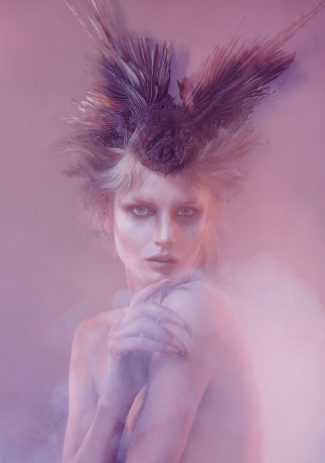Warren du Preez and Nick Thornton Jones - Smantha Gradoville - hair Ali Pirzadeh - makeup Alex Box - headpiece Ali Pirzadeh