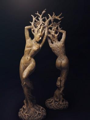 Dryad Statue