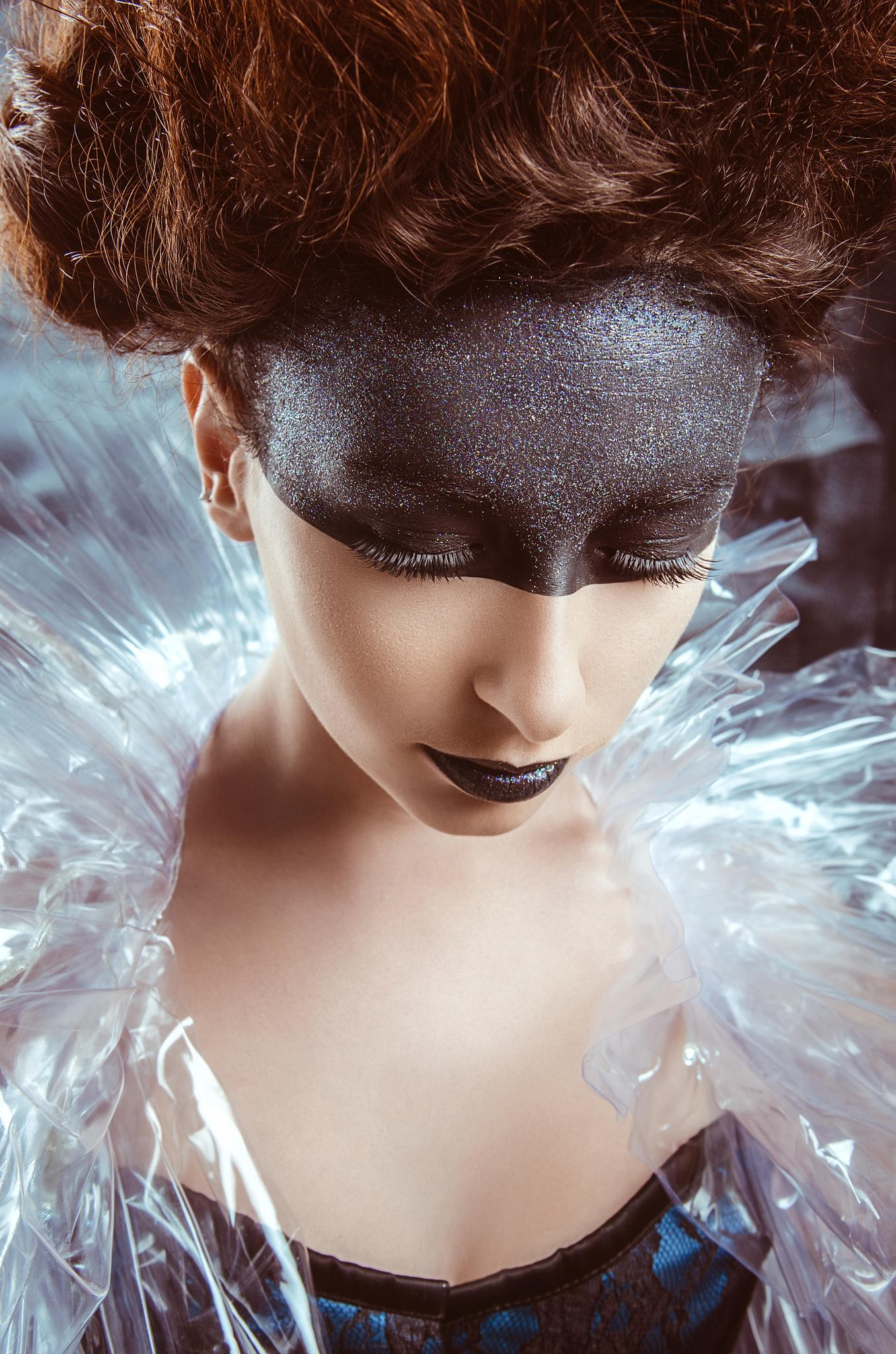 Romain Berthelot - Flamby ProxyButterfly - hair:makeup Pauline Dissais Make Up
