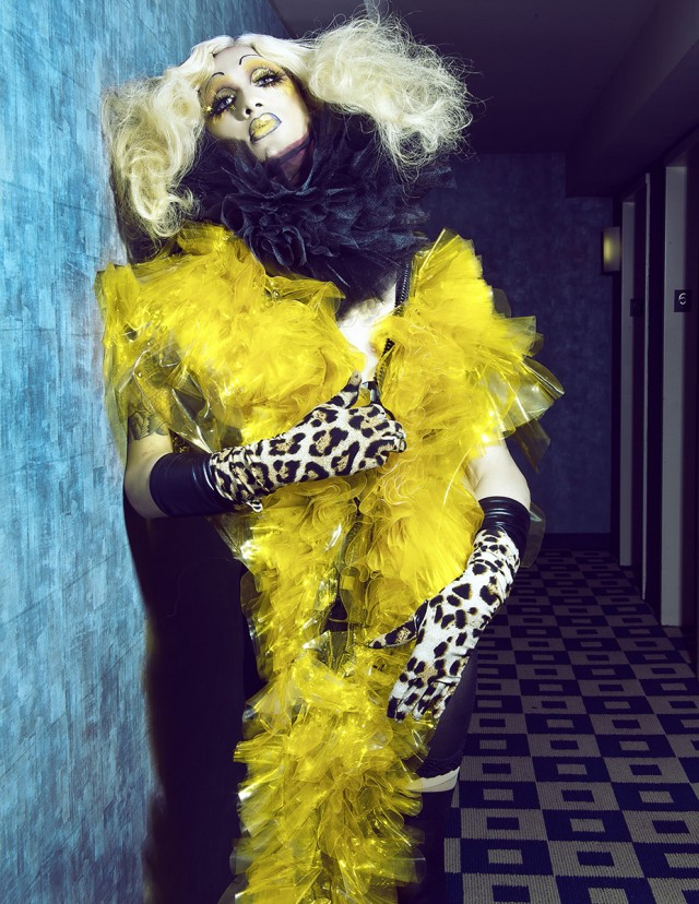Sequoia Emmanuelle - Miss Fame - hair:makeup by model - stylist:designer Babatunde Ajiboye
