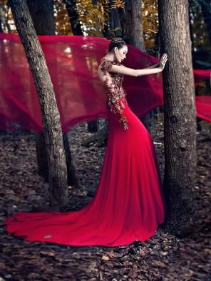 Will Dy - Angel Luzano - hair Claudia Michael Gonzales - makeup Marh Farh - designer Wendell Quisido