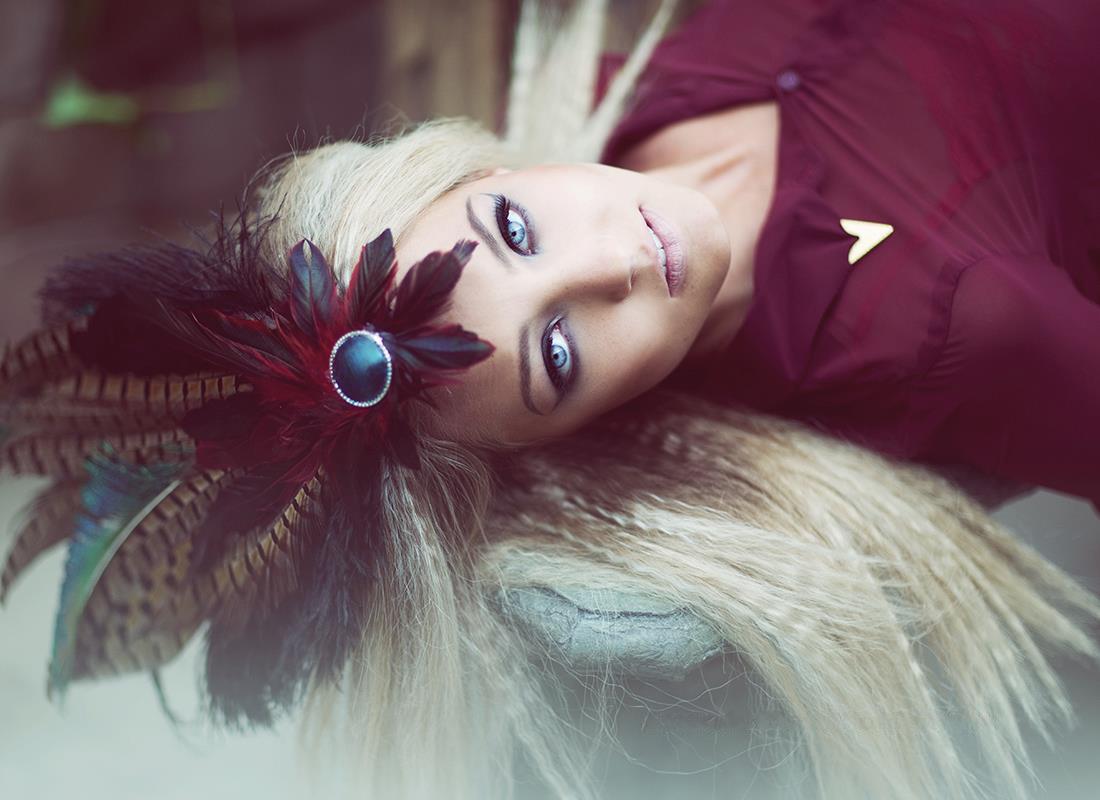 "Amanda Diaz - Haley @ Mode Models - hair:makeup:headpiece Nicole Ziegler - ""Attitude and Film"""