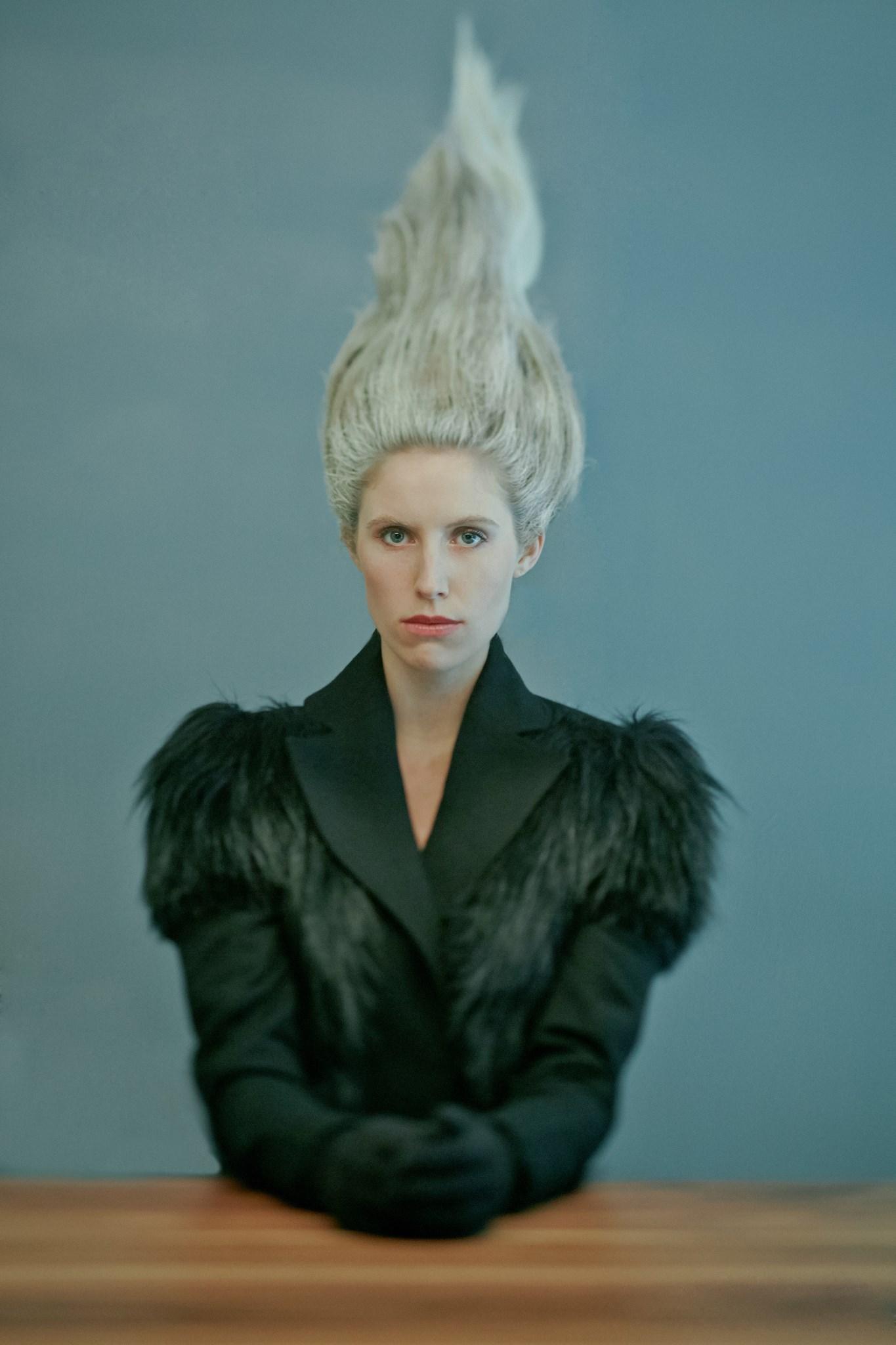 Mark Elzey Jr. - Anna Braun @ Look Model Agency - hair Gabi Baker - makeup Monique Marquez - wardrobe HollyJane Cornell - designer Ken Chen